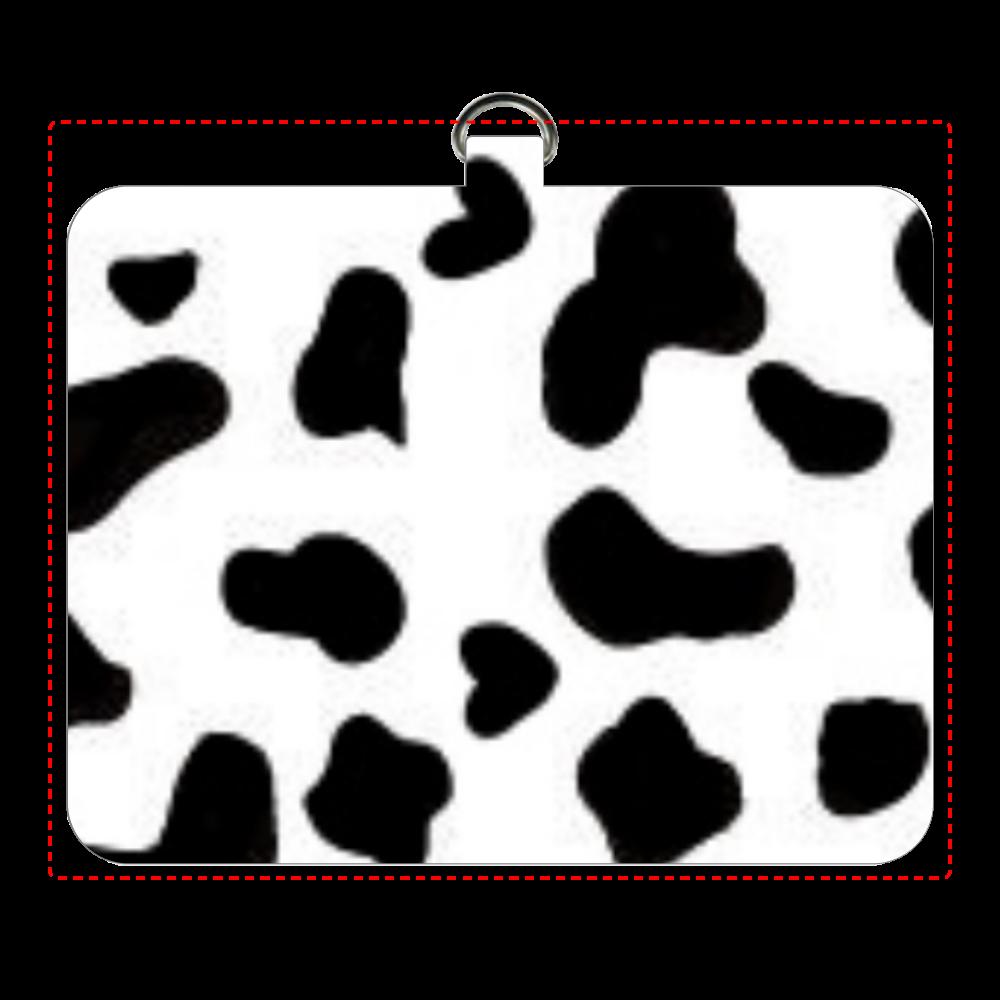 牛柄 パスケース パスケース
