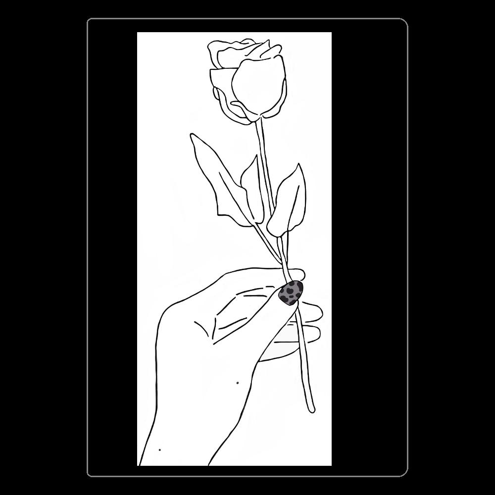 薔薇のノート ソフトレザーノート