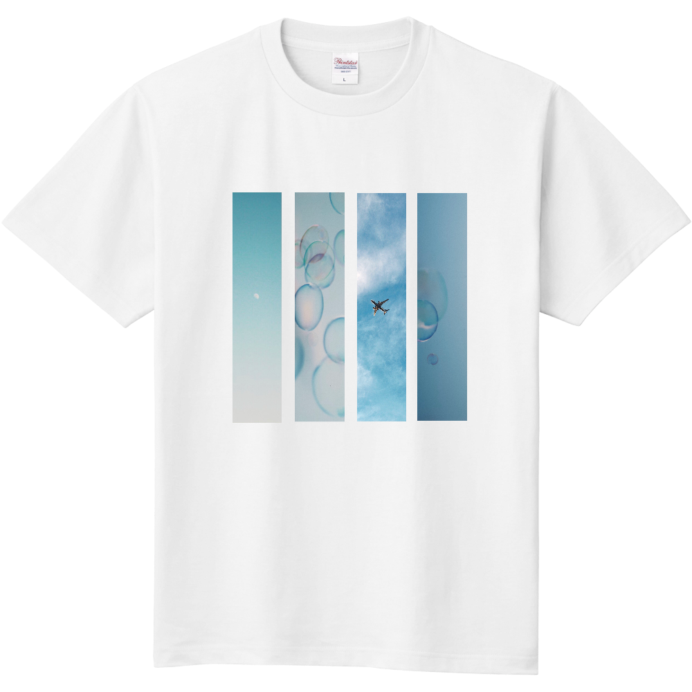 Platonic Blue T 定番Tシャツ