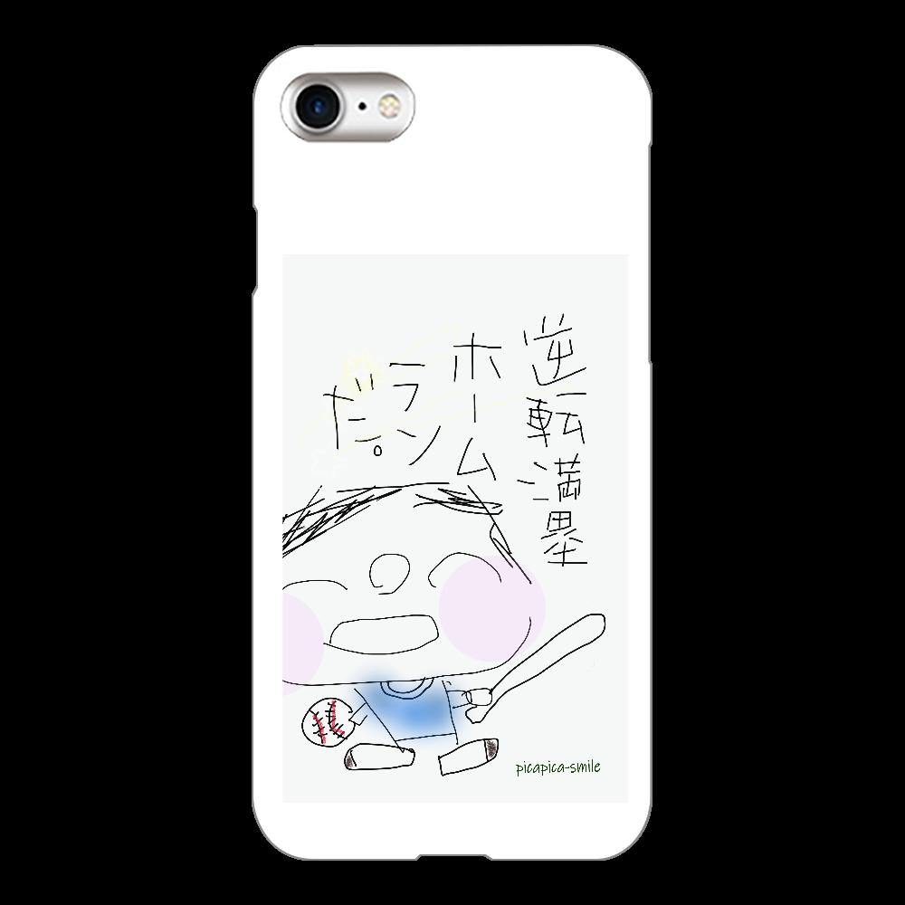 逆転満塁ホームランだ!(iPhone8・クリア) iPhone8(透明)