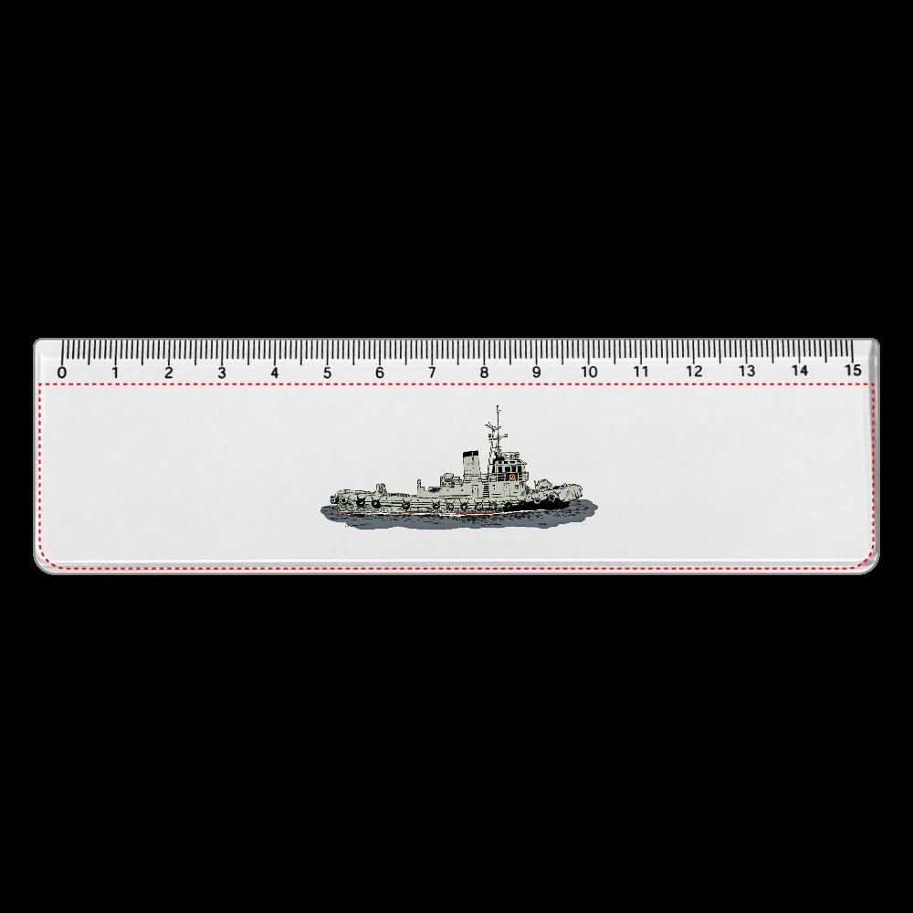タグボート アクリルクリア定規