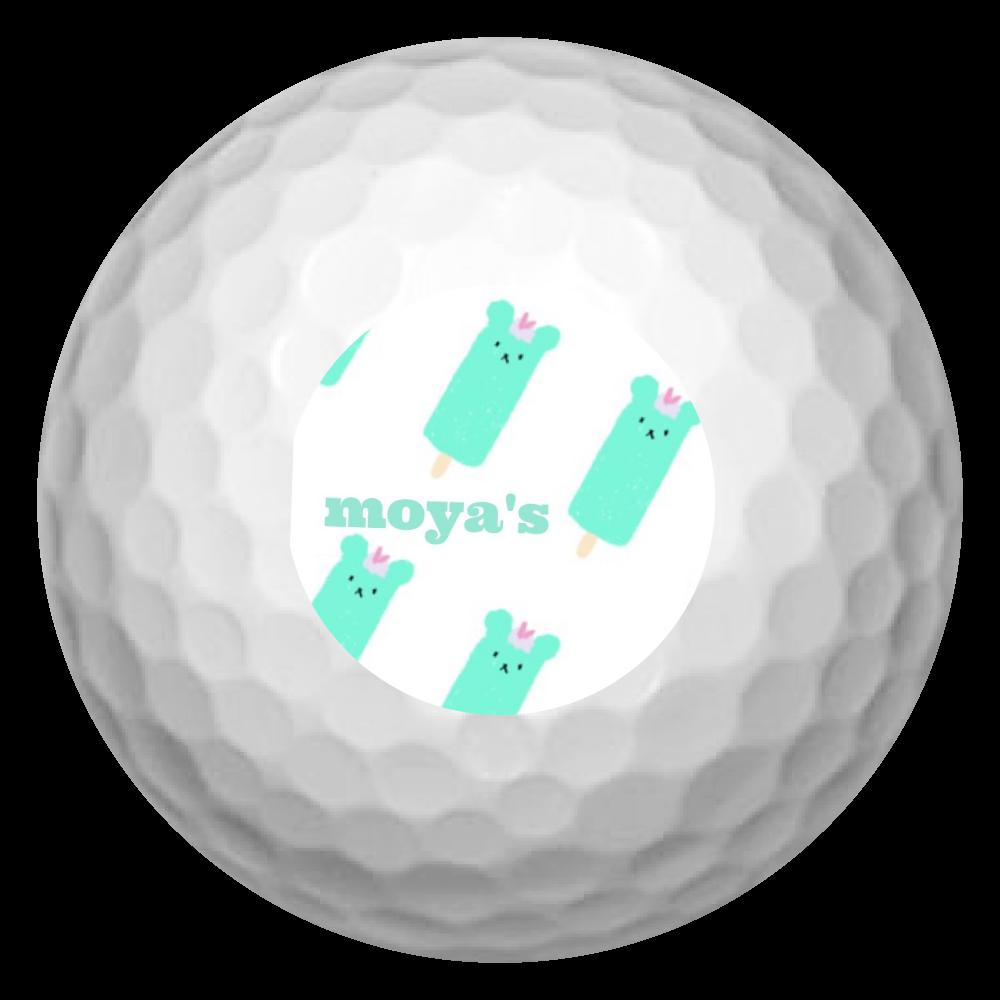 「2020年10月18日 00:49」に作成したデザイン ゴルフボール(3個セット)