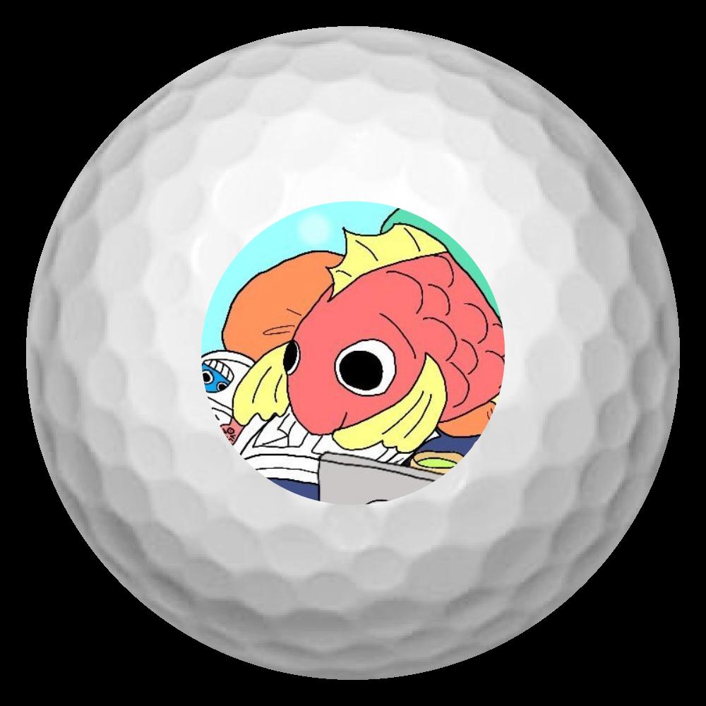 ごろごろし鯛(たい)01-ごろ鯛(たい) ゴルフボール(3個セット)