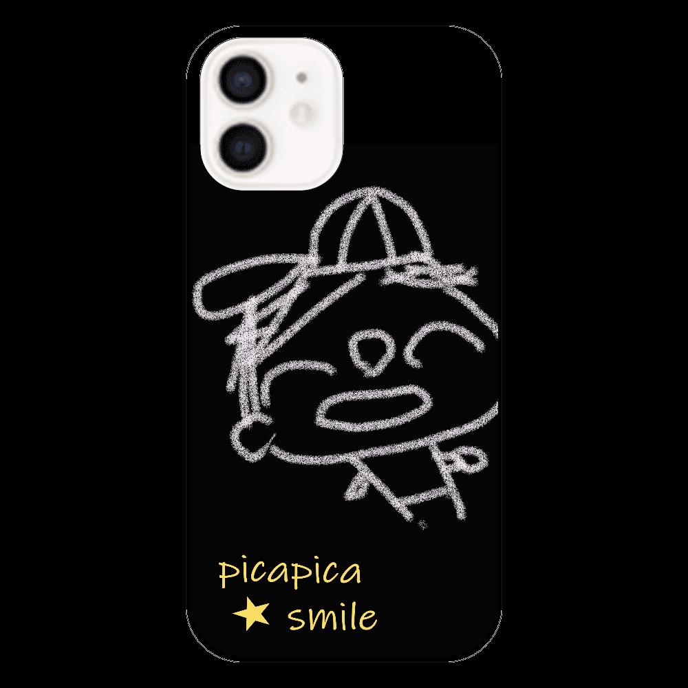 ピカスマボーイ・野球少年(iphone12・ブラック) iPhone12