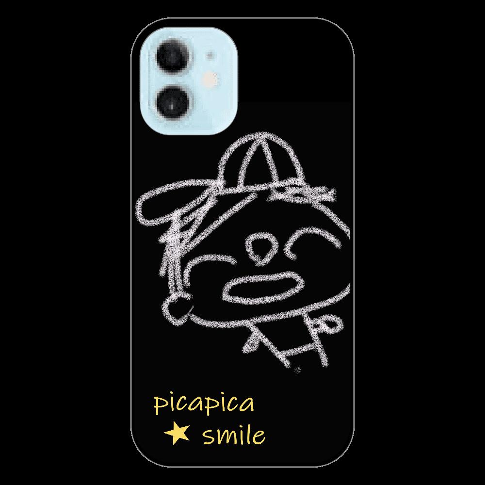 ピカスマボーイ・野球少年(iphone12 mini・ブラック) iPhone12 mini
