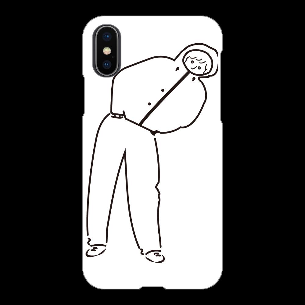 ワタシちゃん iPhoneX/Xs(白)