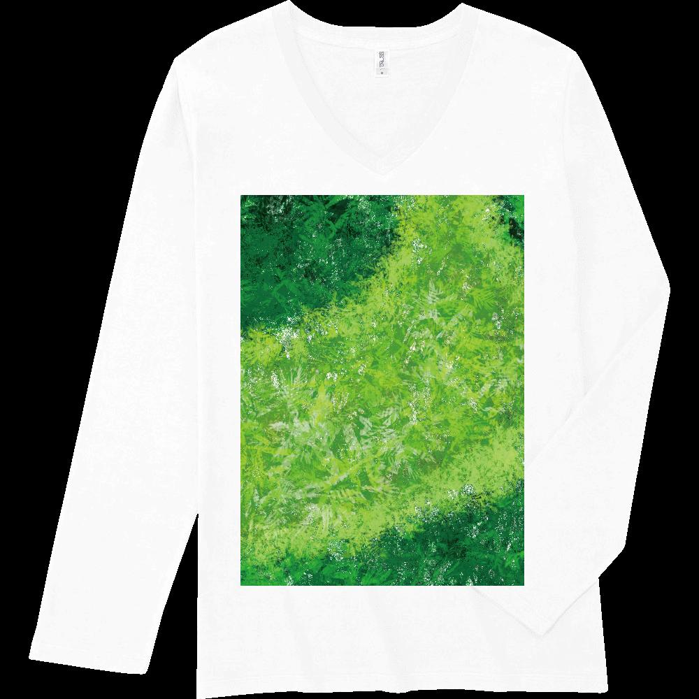 胃袋さんの休日 前面 スリムフィット VネックロングスリーブTシャツ TRUSS SVL-115 スリムフィット VネックロングスリーブTシャツ
