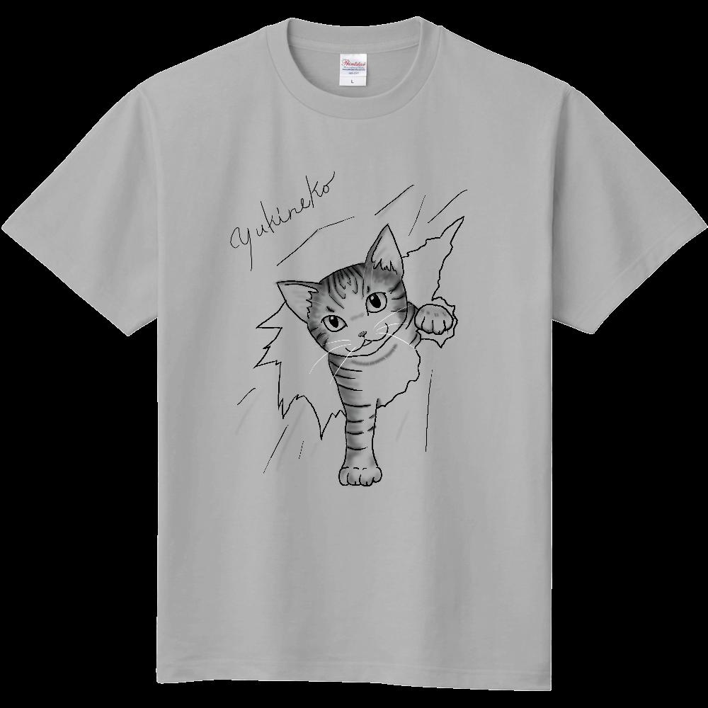 障子破り 背中、両袖デザイン有 定番Tシャツ