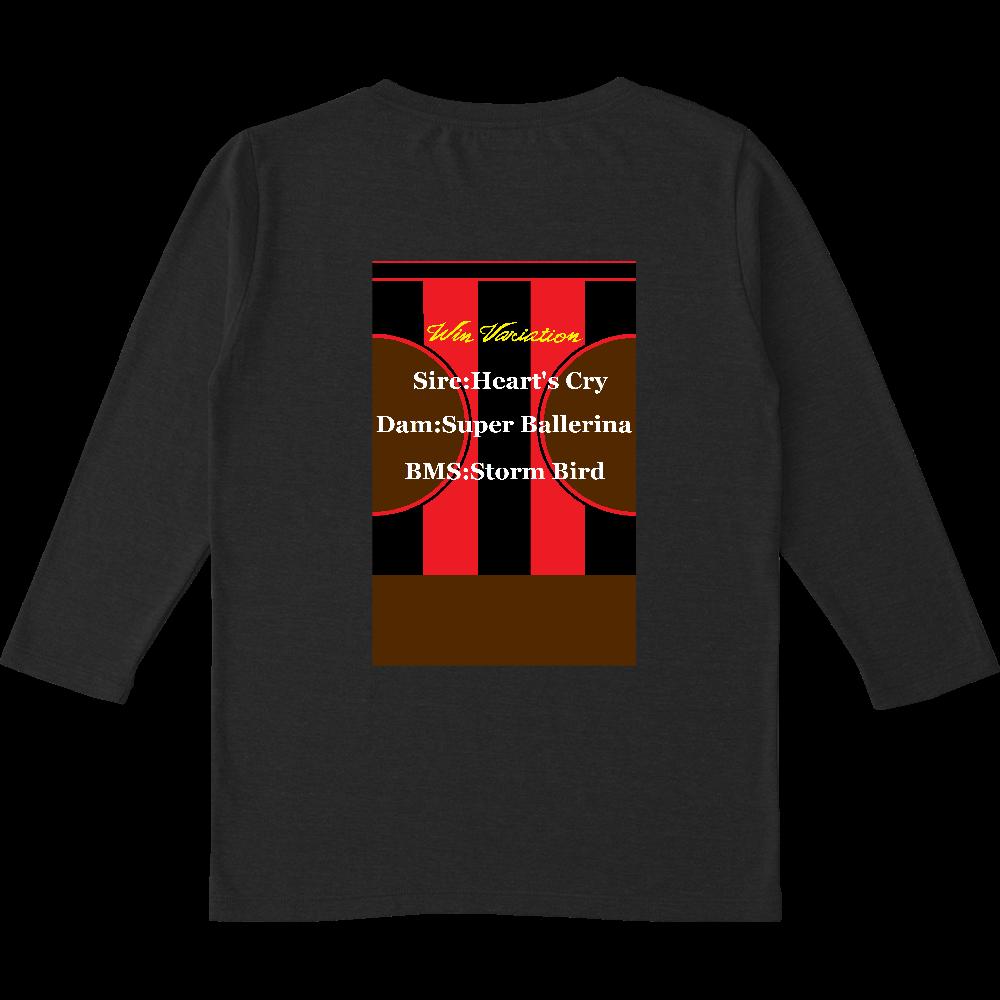ウインバリアシオン 女性用七分袖Tシャツ トライブレンド7分袖レディースTシャツ