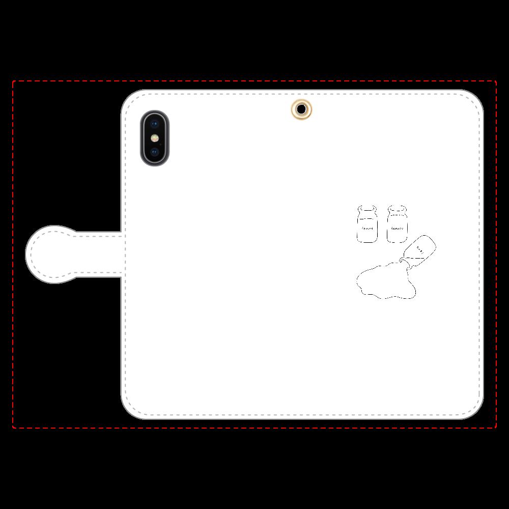 足りない. 手帳型スマホケース iPhoneX/Xs 手帳型スマホケース