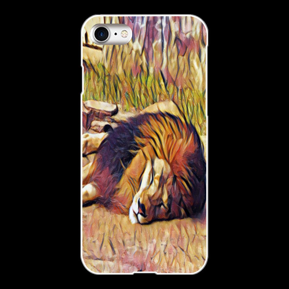 ライオン iPhone8(白)