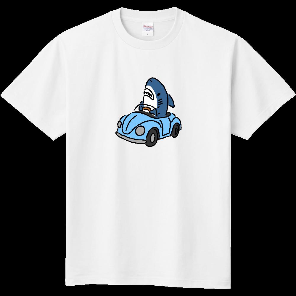 運転を覚えたサメ 定番Tシャツ