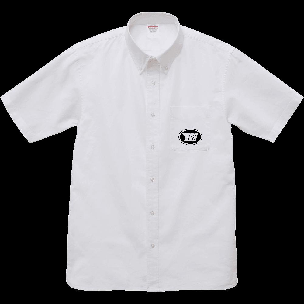 NRS オックスフォードシャツ オックスフォードボタンダウンショートスリーブシャツ