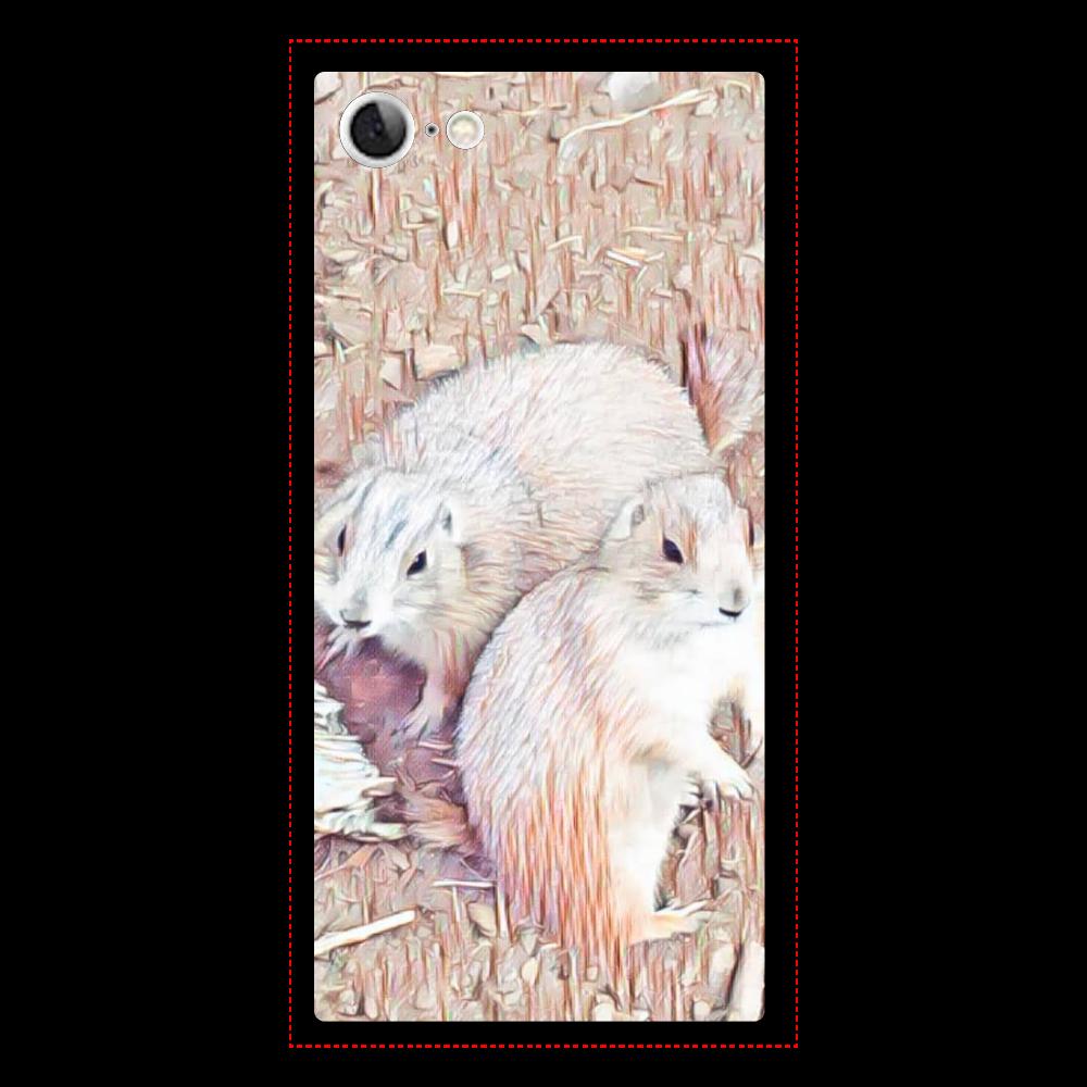 プレーリードッグ iPhone7 背面強化ガラス(スクエア)