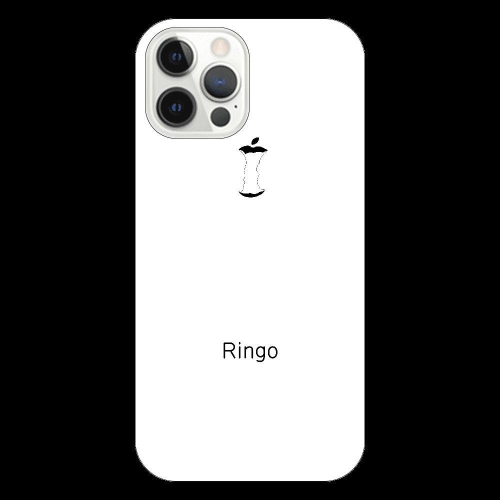かじられリンゴ ホワイト iPhone12 Pro
