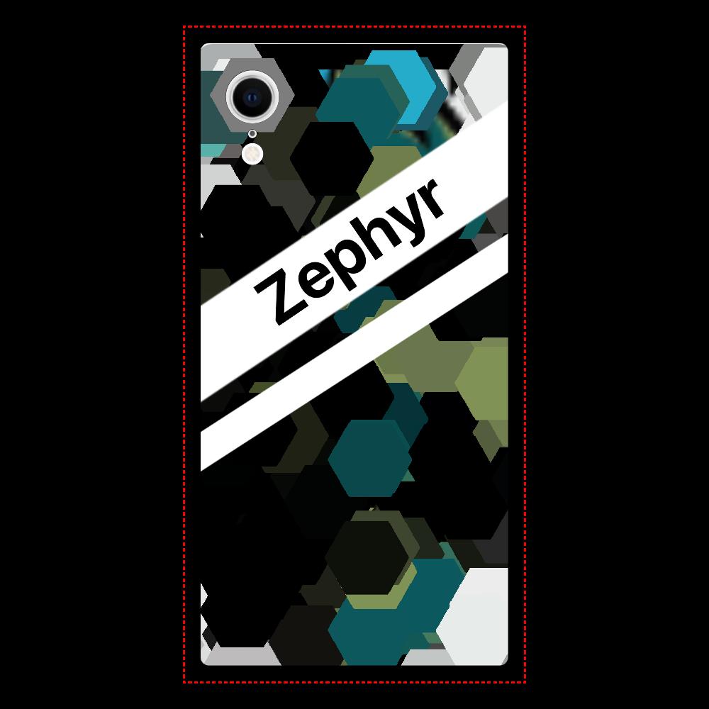 Zephyr【XR】 iPhoneXR 背面強化ガラス(スクエア)