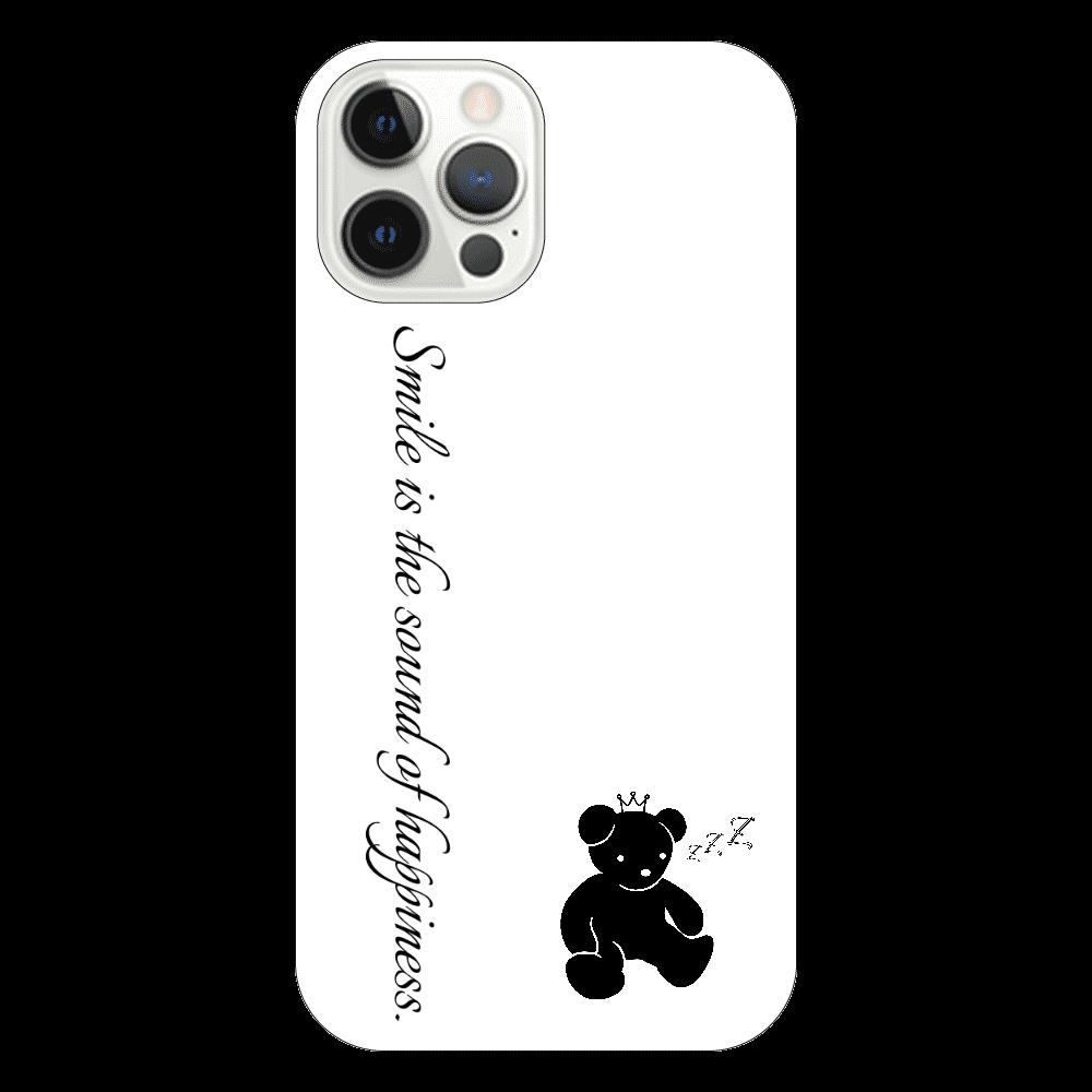スマホケース(白)1 iPhone12 Pro