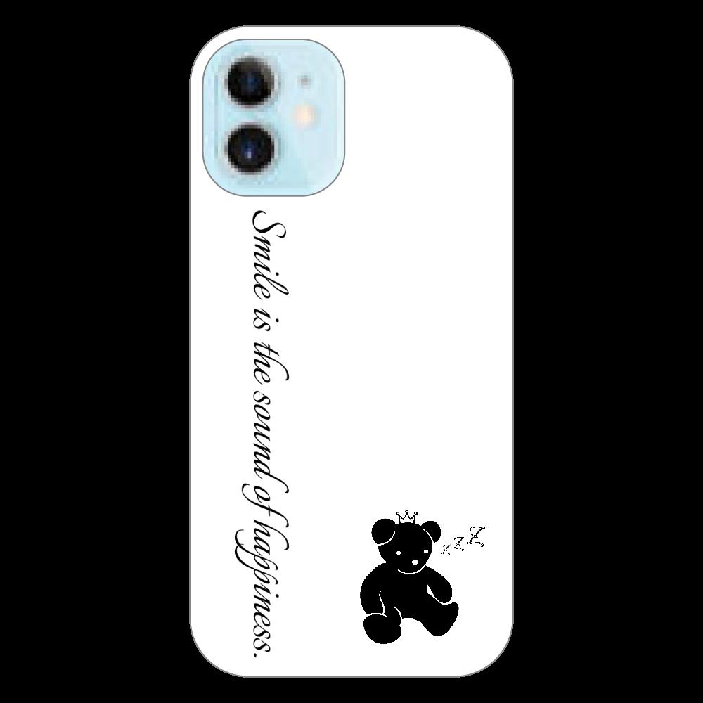 スマホケース(白)1 iPhone12 mini