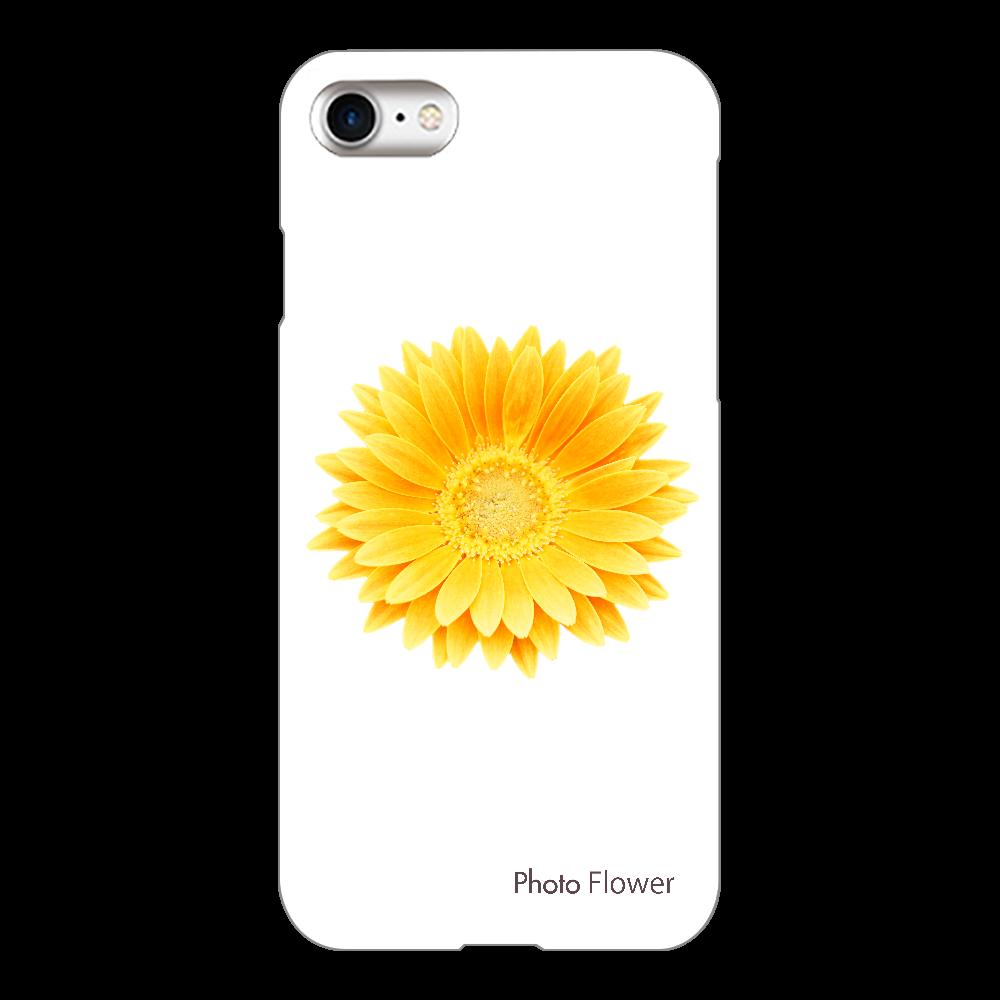 ガーベラの花 イエロー iPhone8(透明)