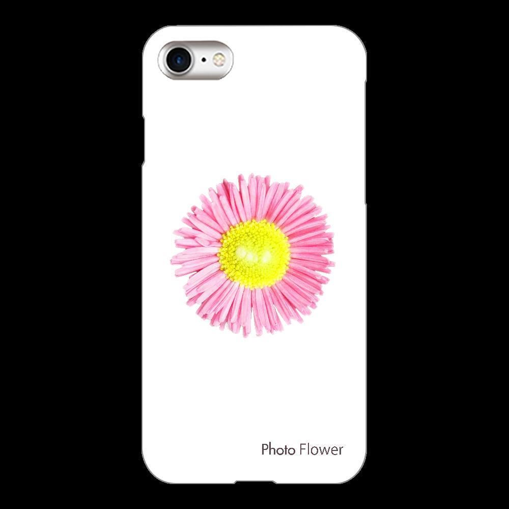 デージーの花 ピンク iPhone8(透明)