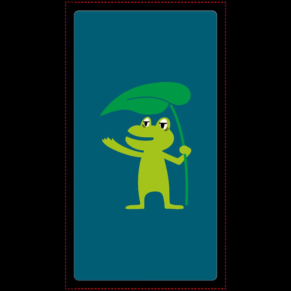葉っぱの傘と眠たいカエルくん cheero モバイルバッテリー(5000mAh)
