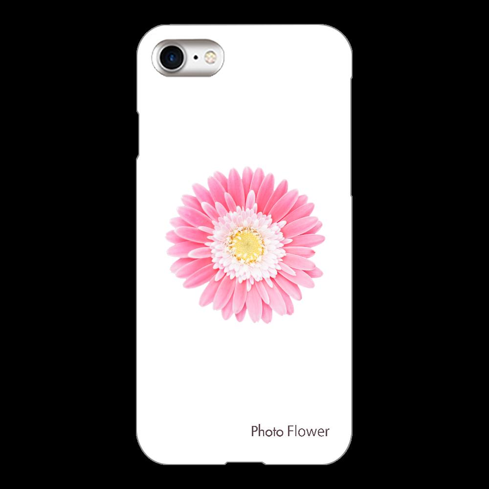 ガーベラの花 ピンク iPhone8(透明)