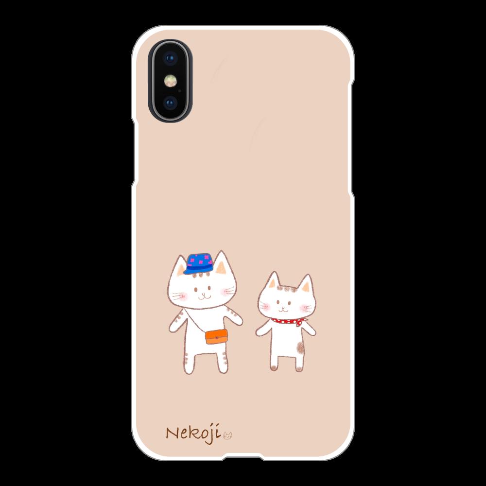 スマホケース iPhoneX/Xs(白)  iPhoneX/Xs(白)