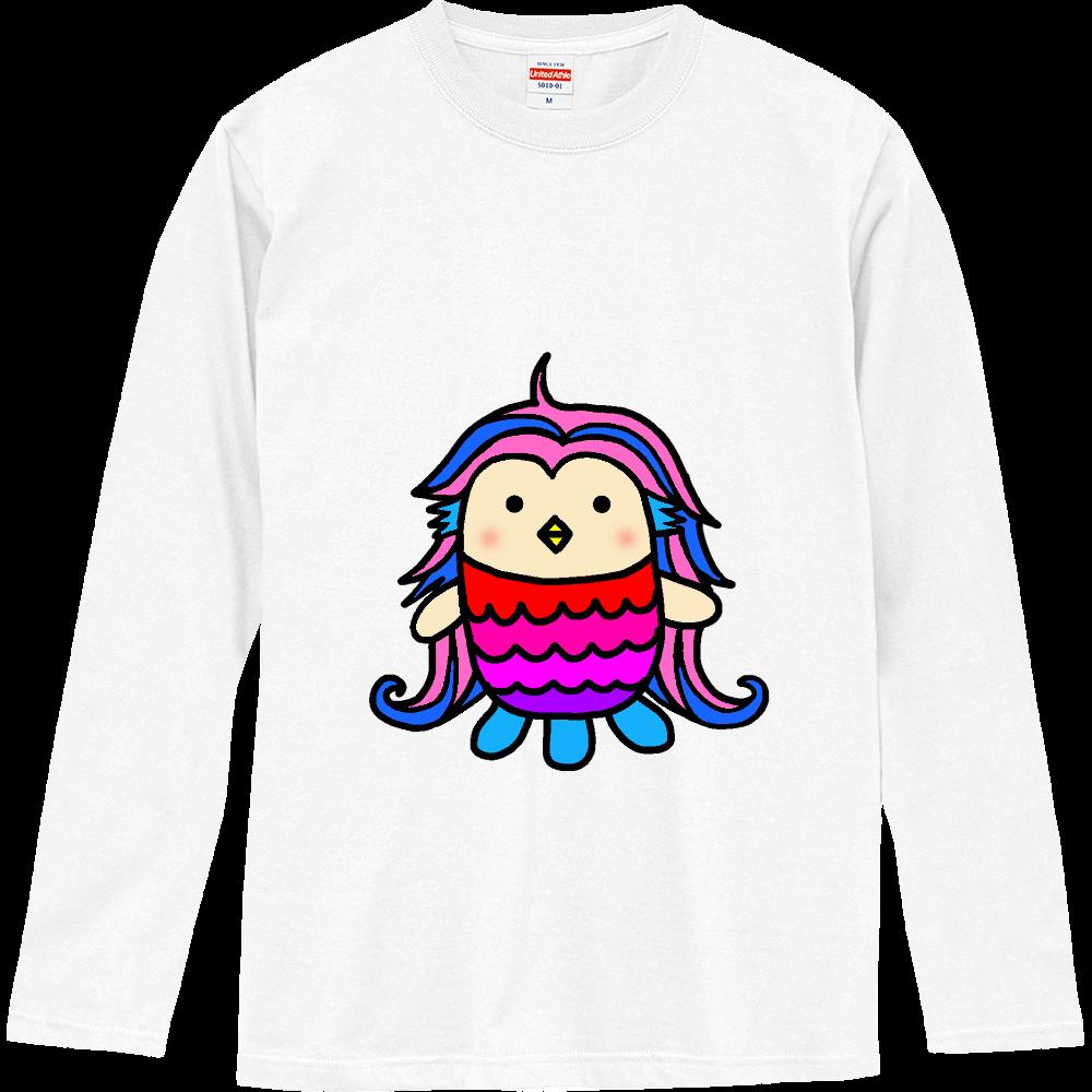 アマビエちゃん ロングスリーブTシャツ