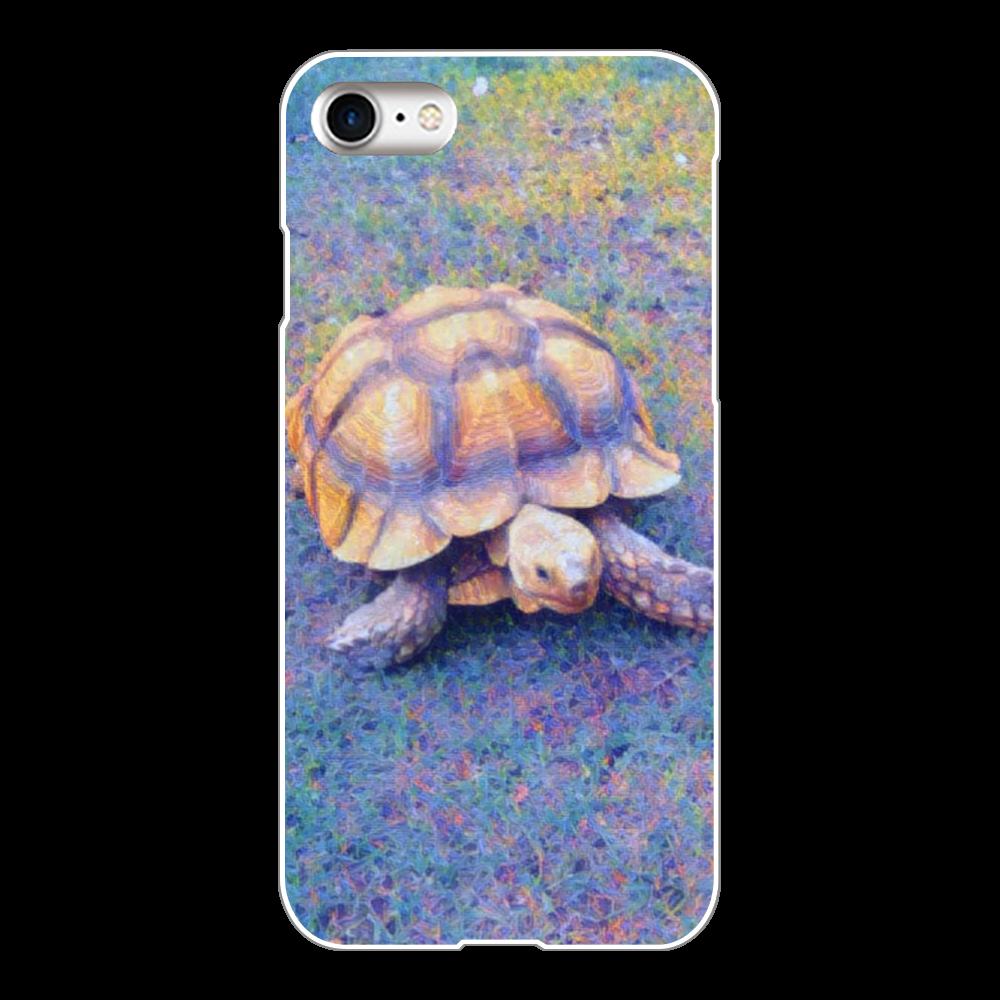 リクガメ iPhone8(白)