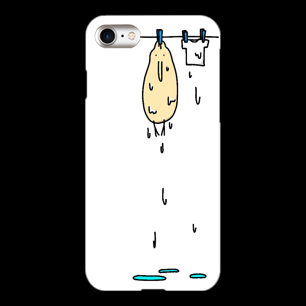 干されるキーウィ iPhone8(透明)
