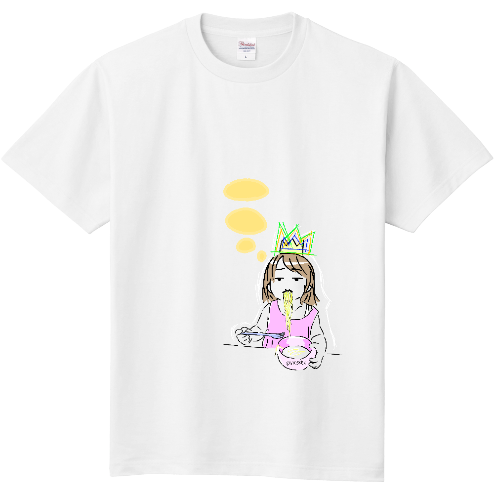 【Noodle Queen】Tシャツ 定番Tシャツ