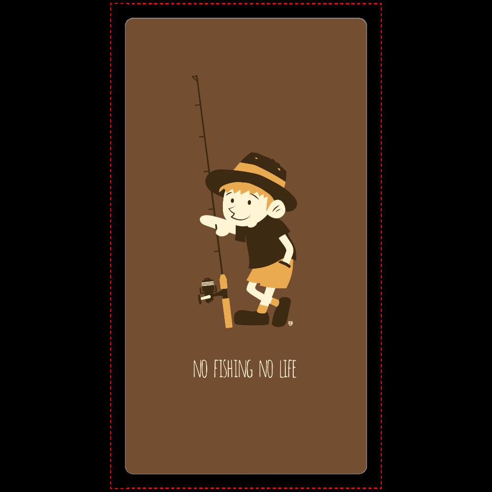 釣りに行きたい少年 cheero モバイルバッテリー(5000mAh)
