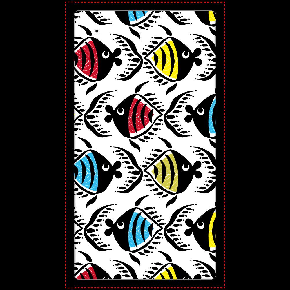 カラフルフィッシュダンス cheero モバイルバッテリー(5000mAh)