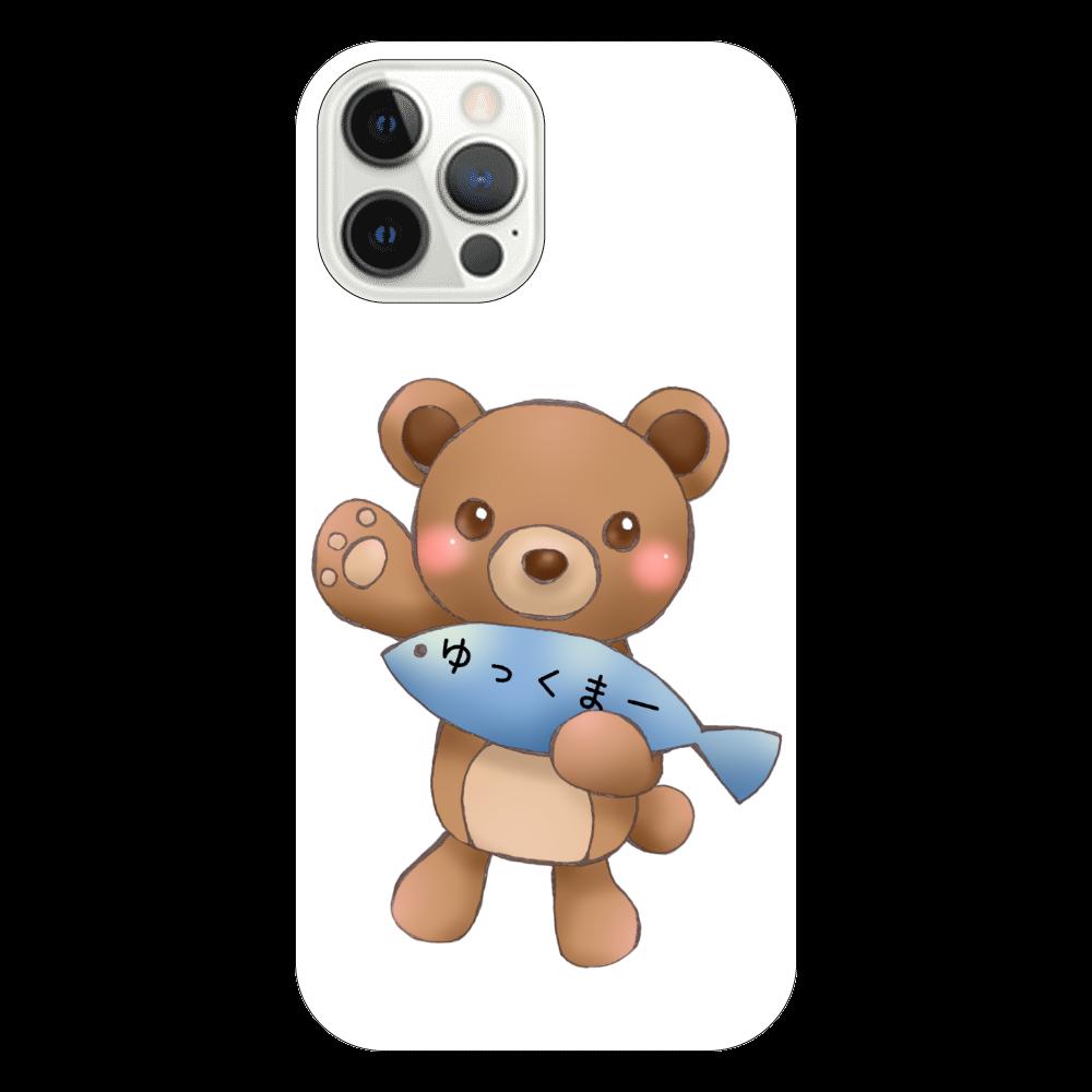 ゆっくまーiPhone12 Proケース iPhone12 Pro