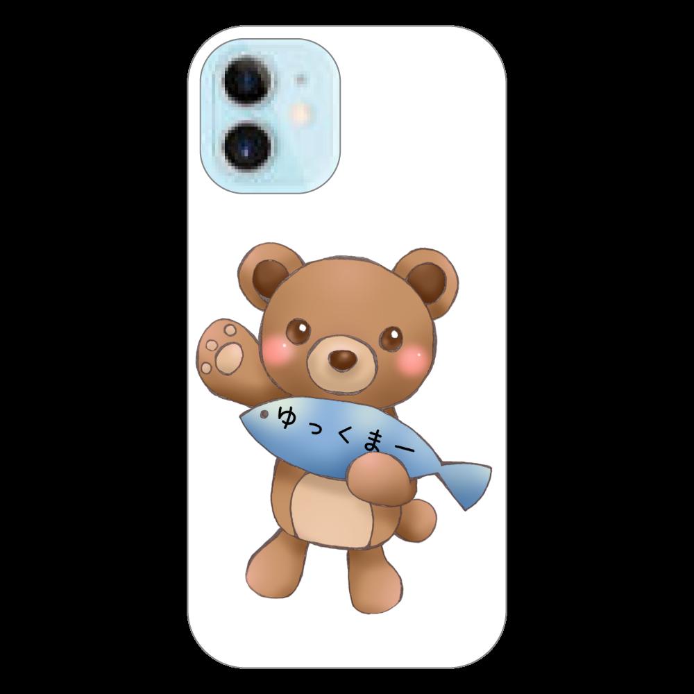 ゆっくまーiPhone12miniケース iPhone12 mini