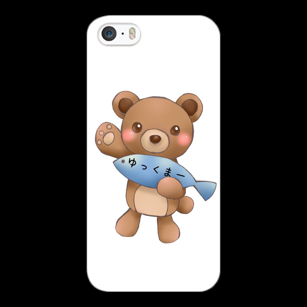 ゆっくまーiPhone5cケース iPhone5c(白)