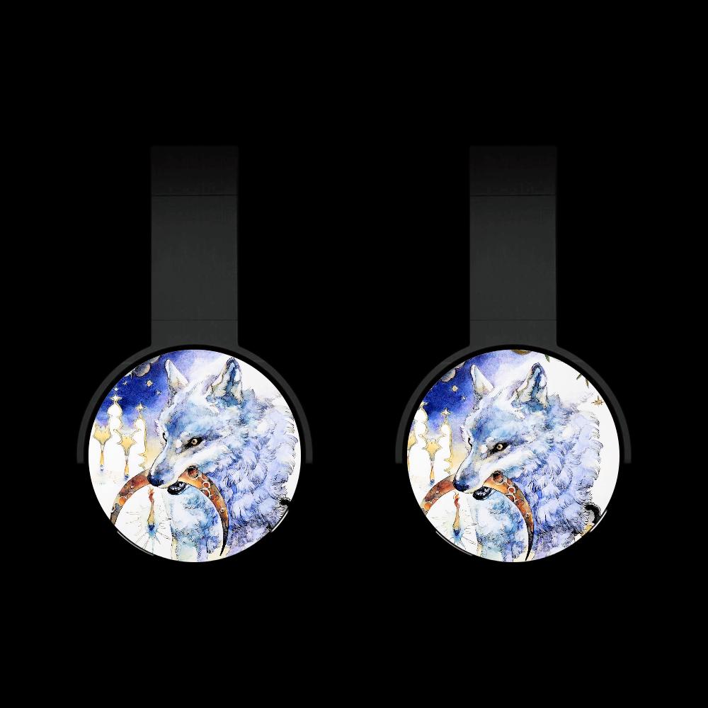 狼と月 Bluetoothヘッドフォン