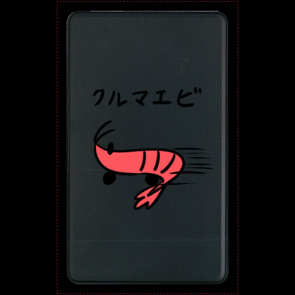 クルマエビ マットタイプモバイルバッテリー(4000mAh)