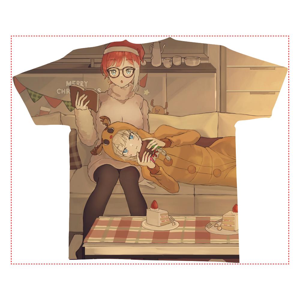 フルグラフィックTシャツ(Lサイズ) 全面インクジェットTシャツ(L)