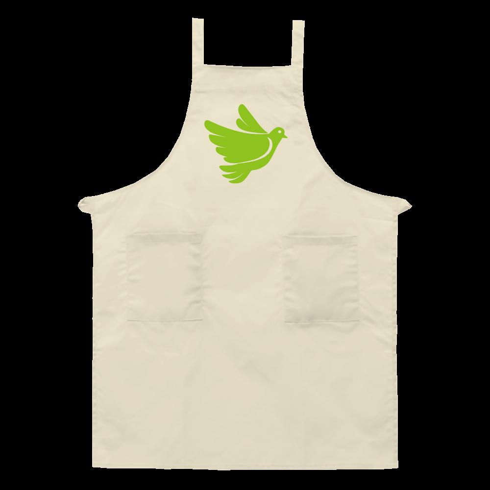 緑のエプロン エプロン