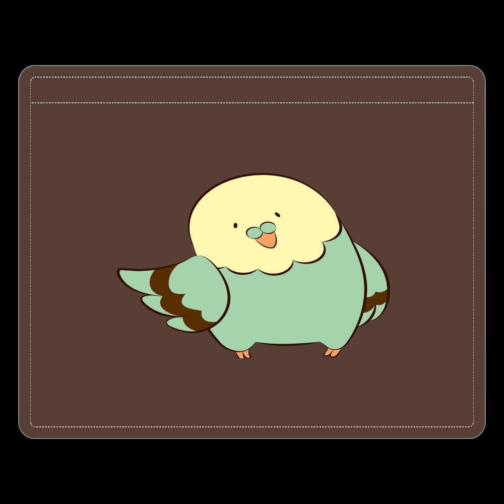 鳥さんのレザーIDカードホルダー(ネックストラップ付) レザーIDカードホルダー(ネックストラップ付)