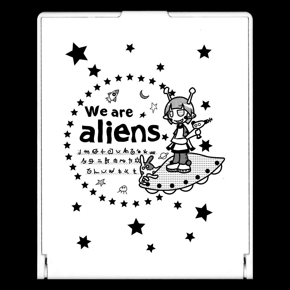我々は宇宙人だ ミラー スクエアミラー
