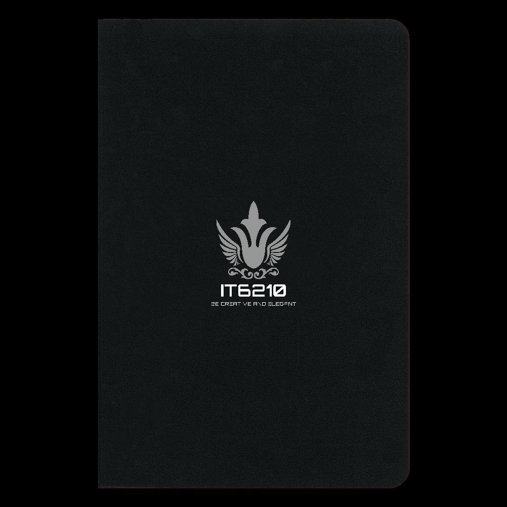 【IT6210】オリジナルノート A5サイズ ハードカバーノート(罫線)