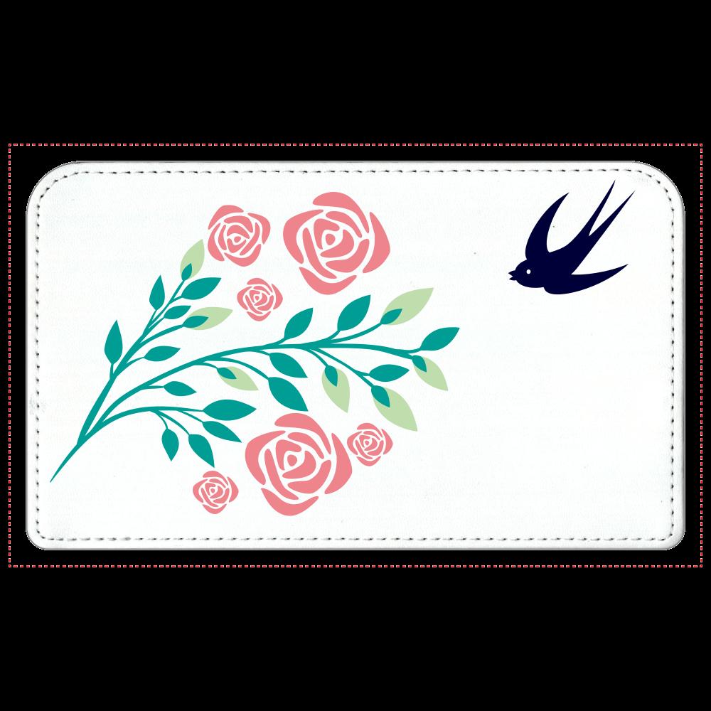 花と鳥の化粧ポーチ 化粧ポーチ