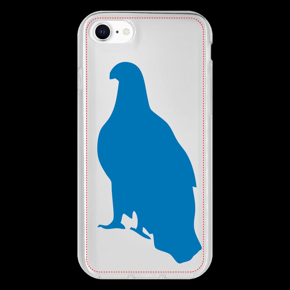 鷲のiPhone SE2 抗菌ソフトケース iPhone SE2 抗菌ソフトケース