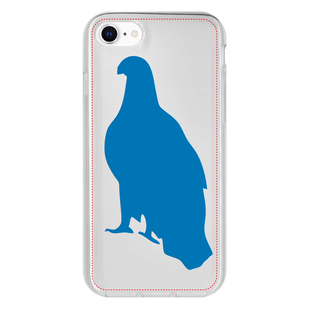 鷲のiPhone 8 抗菌ソフトケース iPhone 8 抗菌ソフトケース