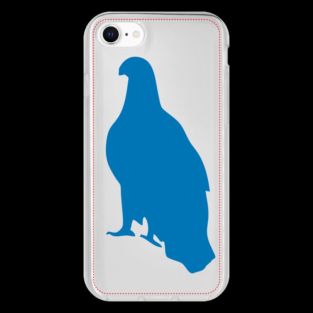 鷲のiPhone 7 抗菌ソフトケース iPhone 7 抗菌ソフトケース