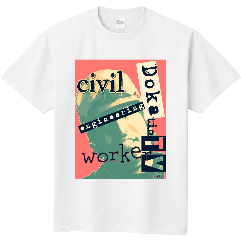 DokatinTV  Tシャツ 定番Tシャツ