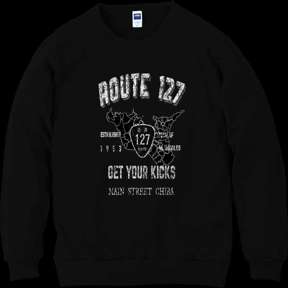 房総半島ROUTE 127トレーナー 軽量スウェット