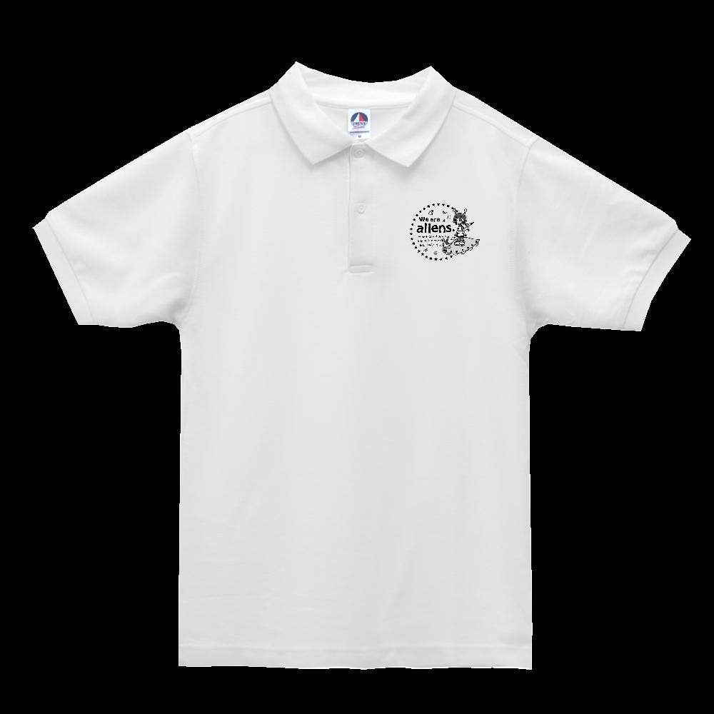 我々は宇宙人だ ベーシックスタイルポロシャツ ベーシックスタイルポロシャツ